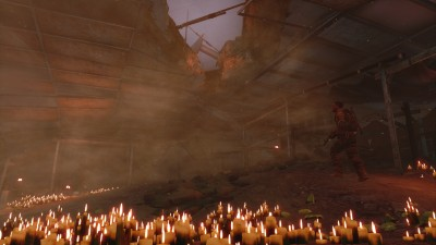 Spec Ops: The Line candles