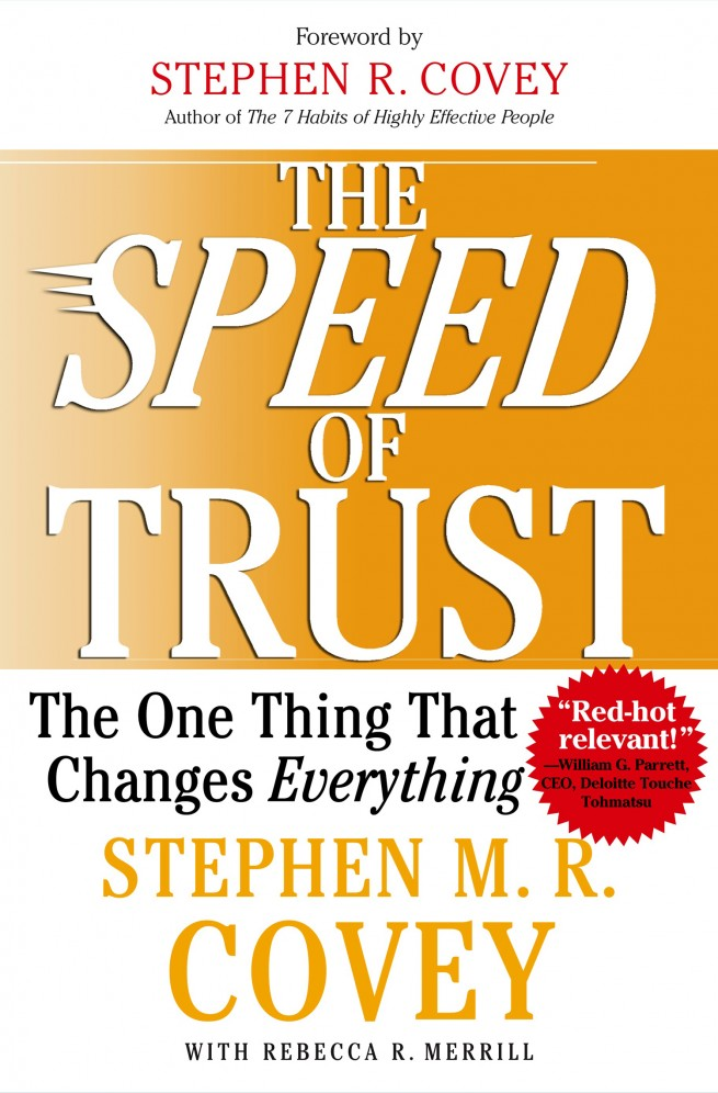 the speed of trust: the one thing that changes everything pdf