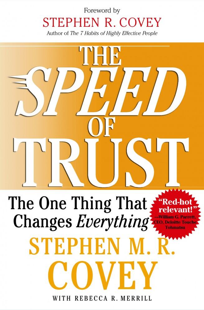 Speed of Trust Book
