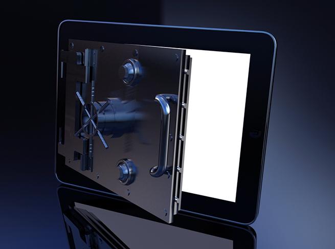 mokafive-ipad-security