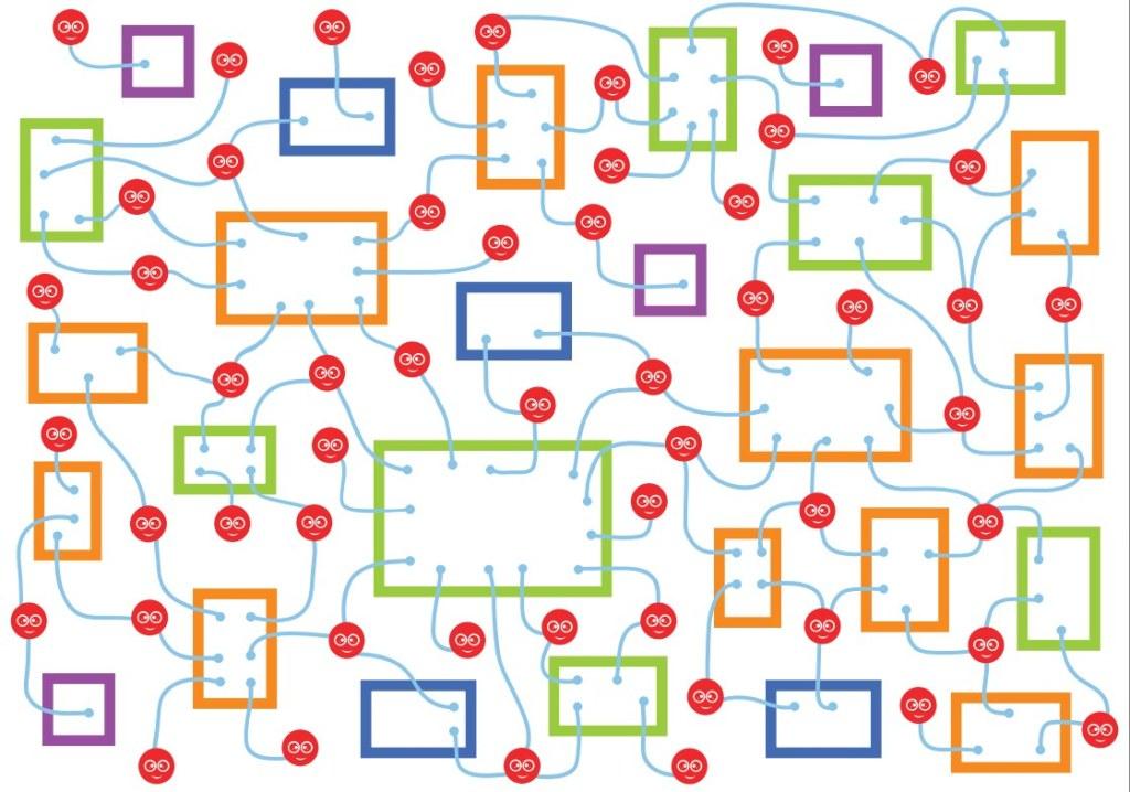 tablen social network concept