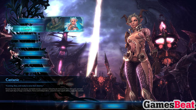 TERA 2012 MMO Classes, races, gear - Castanic, Aman, Elin, etc.