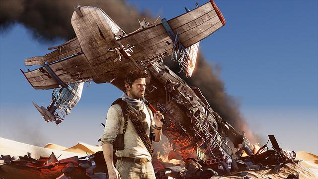 Uncharted 3 plane crash