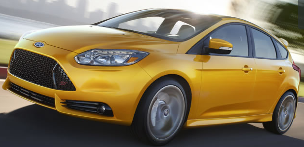 """The 2013 Focus ST has an """"overclocked"""" turbocharger that gives it 15 extra seconds of boost power"""
