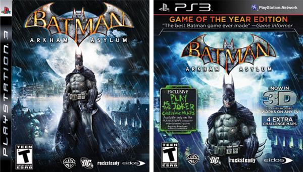 Batman Arkham Asylum GotYs