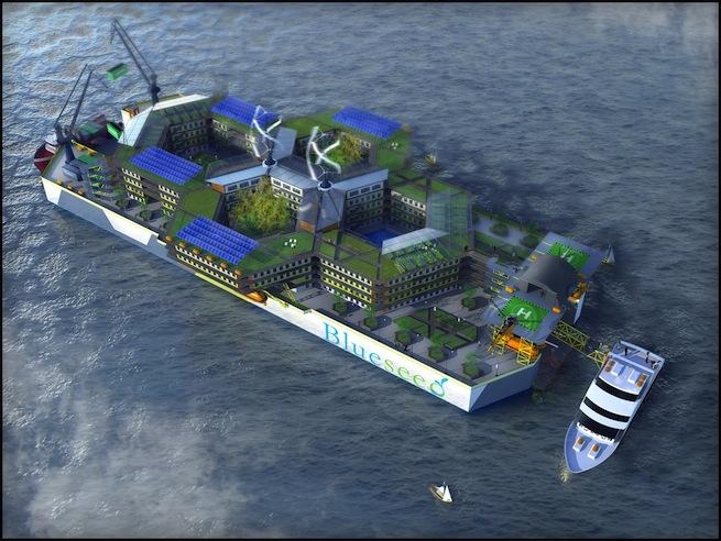 Blueseed Startup Ship
