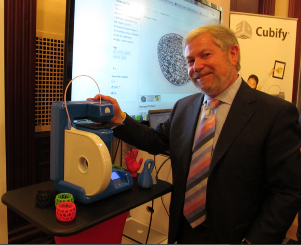 3D Systems CEO Abe Reichental