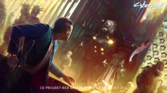 Cyberpunk Concept Art