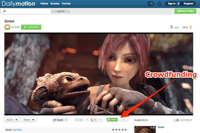 Dailymotion screenshot
