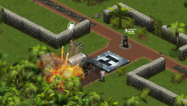 Ghost Recon Commander explosion