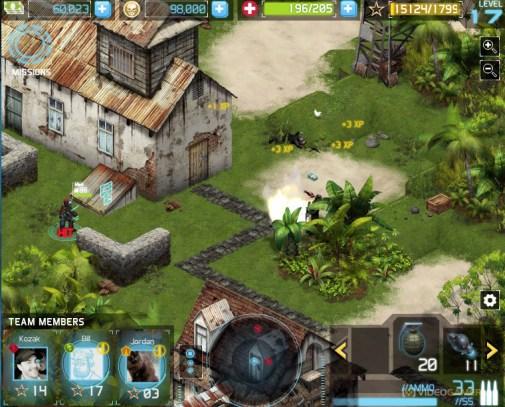 Ghost Recon Commander jungle