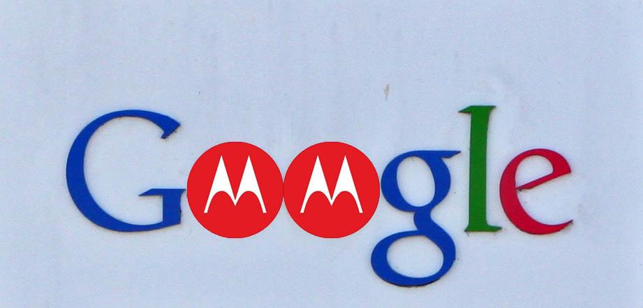Google Motorola Sign