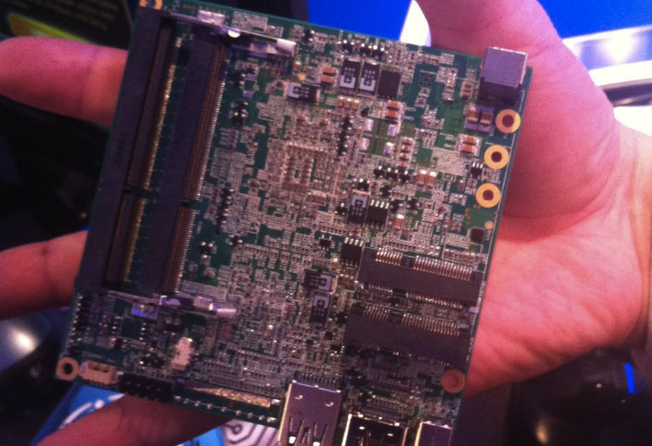 Intel's NUC motherboard is small enough to fit in your hand