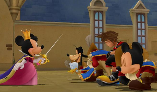 Kingdom Hearts 3D - Musketeers