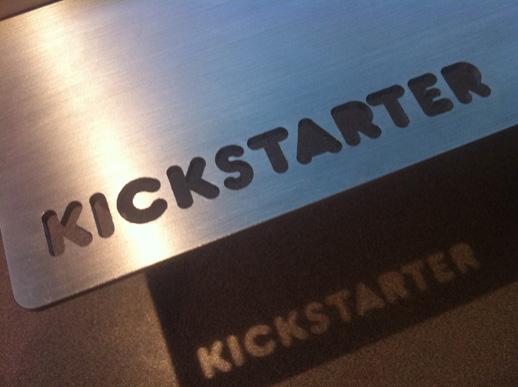 kickstarter logo trackpad