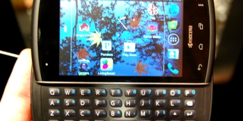 Hands on with the Kyocera Rise, a rare phone w/ Android 4.0 and a keyboard