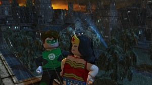 Lego Green Lantern and Wonder Woman