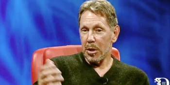 "Larry Ellison has had an about-face: ""I like the word cloud"""