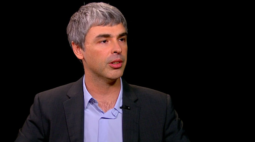 """Larry Page on Charlie Rose: """"We're still waiting"""" for ..."""