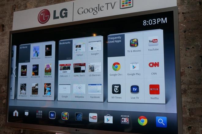 LG Google TV demo 1