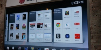 LG shows off the best Google TV yet, with motion controls, dual-core CPU, 3D