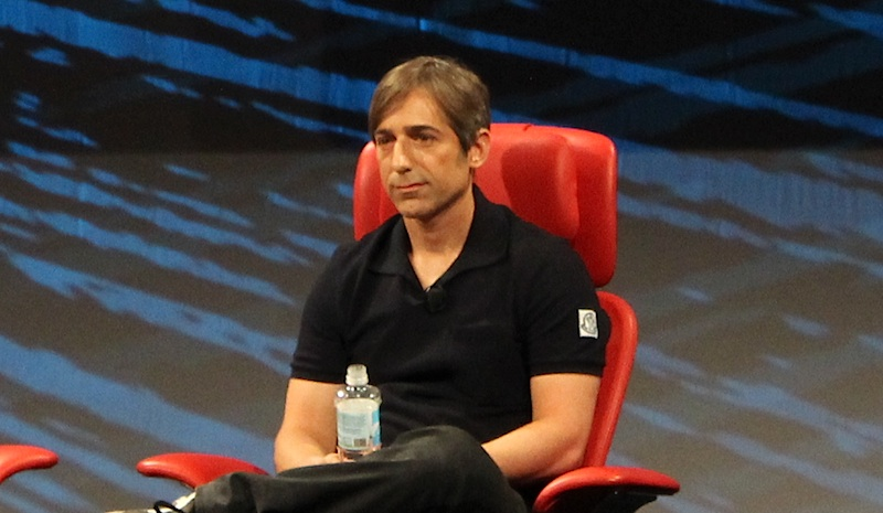 Mark Pincus onstage at the D10 conference