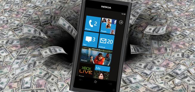 nokia lawsuit windows phone sales