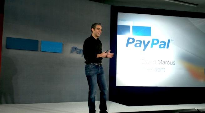 PayPal president David Marcus