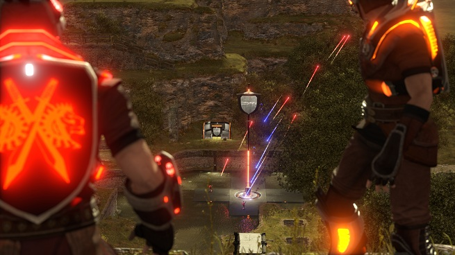 ShootMania Storm - fire fight