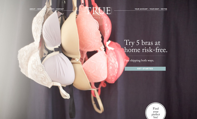 True&Co personal bra fitting