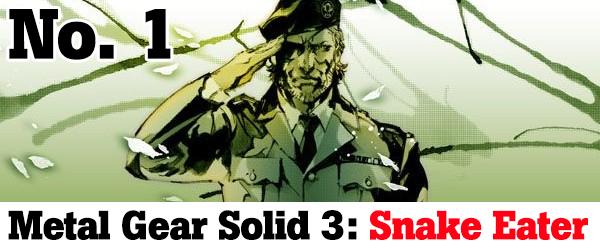Metal Gear Solid 3: Snake Eater -- Number 1