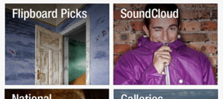 Flipboard turns up the volume and adds audio content, SoundCloud support