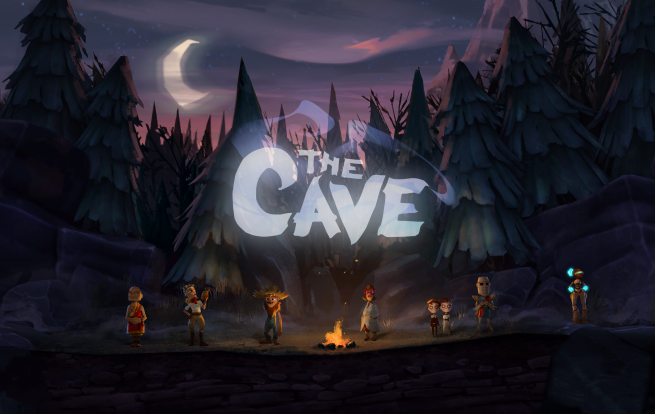 The Cave Double Fine Ron Gilbert