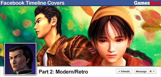 Gaming art for your Facebook Timeline (Part 2: Modern-Retro