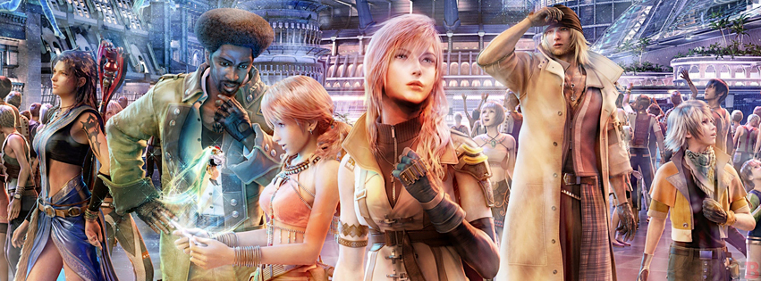 Timeline cover Final Fantasy XIII