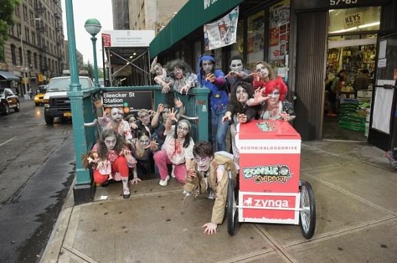 Zombie Swipeout Blood Drive