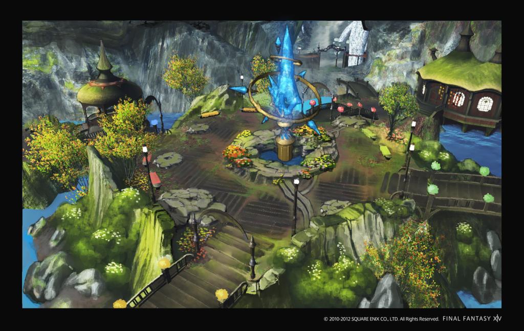 Final Fantasy XIV Aquatic Town