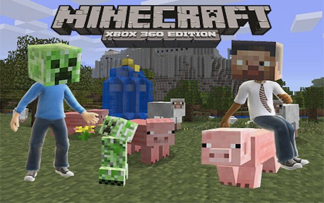 Minecraft Xbox 360 Edition update fixes zombie pigmen, adds auto