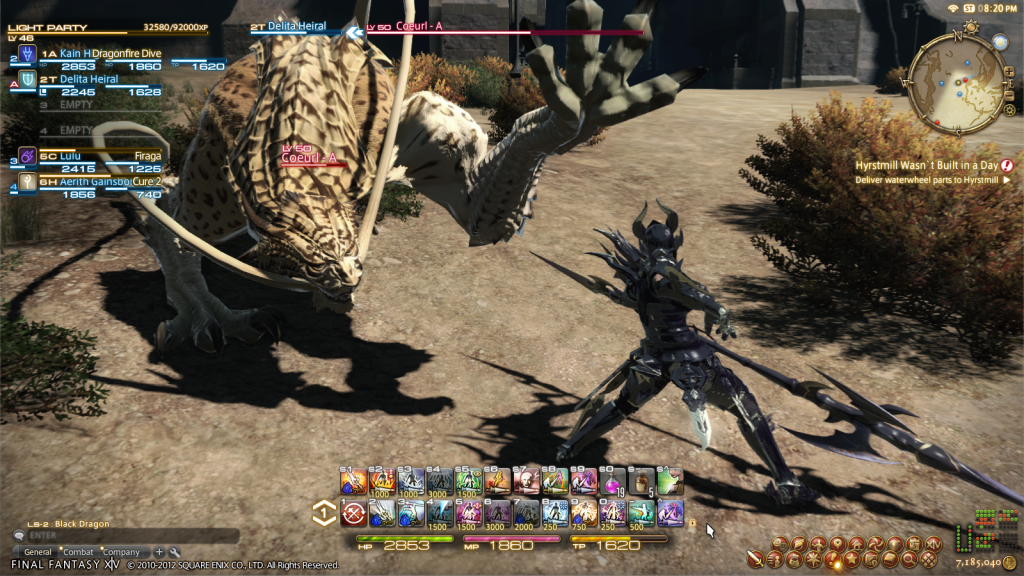 Final Fantasy XIV Dragoon