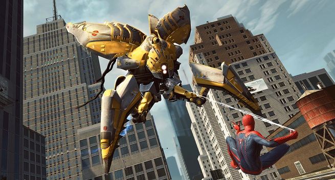 The Amazing Spider-Man vs a Hunter