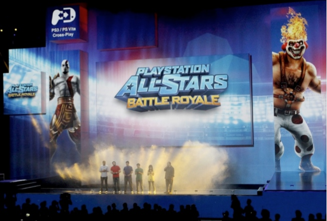 Playstation All Stars Battle Royale at E3 2012 Press Conference