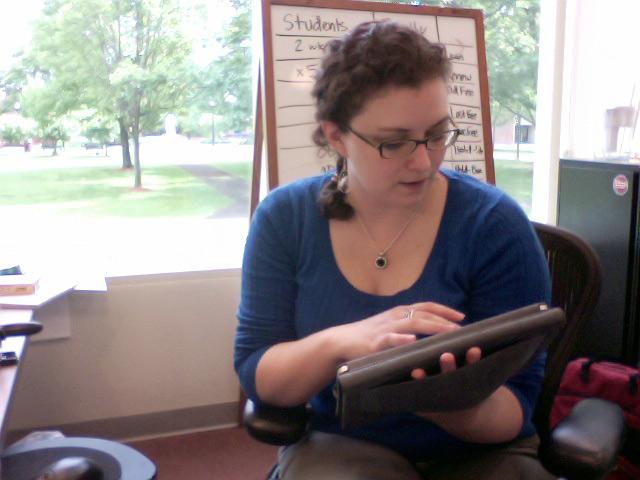 Tablets at work iPad