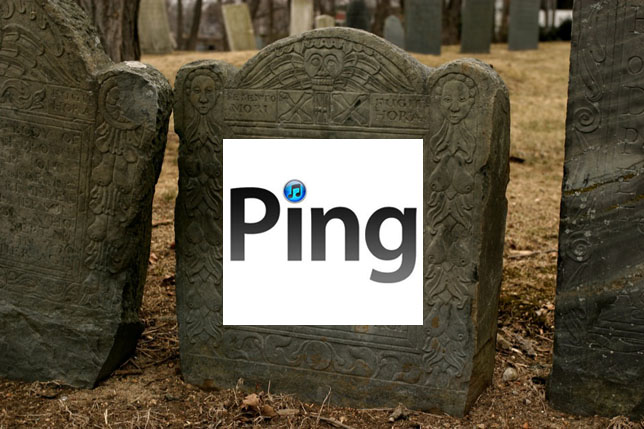 Ding-dong, Ping is dead: Apple kills its social music ...