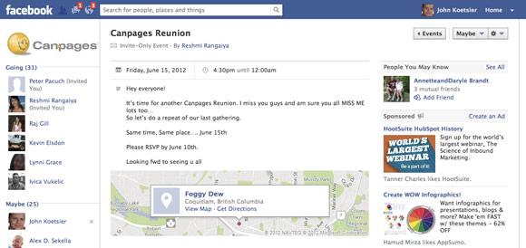 Sample facebook wedding event invitation wedding invitations sample facebook wedding event invitation stopboris Choice Image