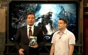 Jimmy Fallon Halo 4