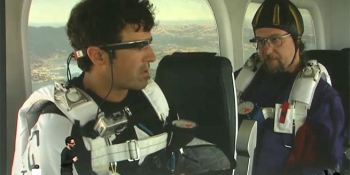 Google shows the power of Project Glass — by jumping out of an airplane