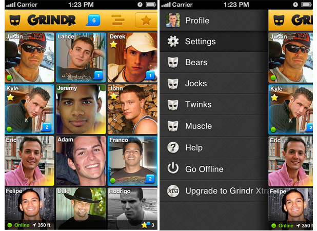 Similar apps to grindr