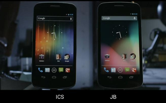 ice cream sandwich vs android jelly bean