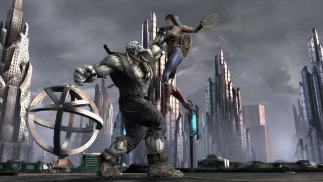 Injustice: Gods Among Us (Wonder Woman vs. Solomon Grundy)