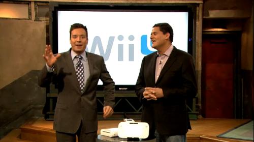 Jimmy Fallon - Wii U demo